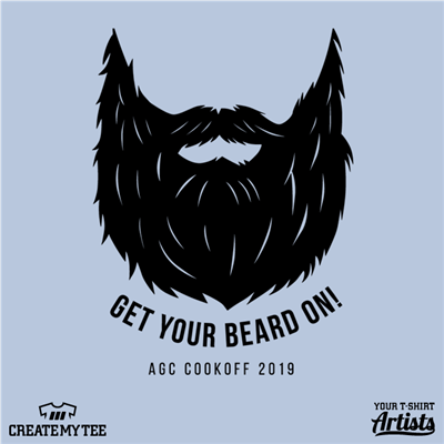Get your beard on! (8 inches), Beard, Cookoff