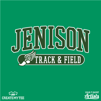 Jenison Track & Field, Track shoe wings
