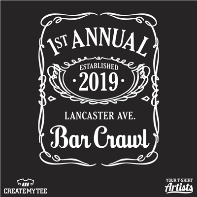 First Annual Lancaster Ave Bar Crawl, Jack Daniel's