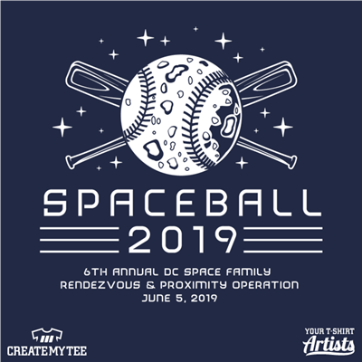 Spaceball 2019, Baseball, Moon