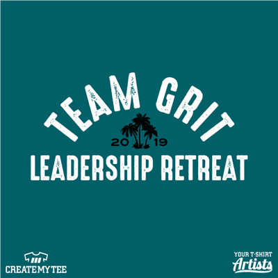 Team Grit, Leadership Retreat, Palm Trees