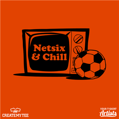 Netsix and Chill, Soccer Ball, Soccer, TV