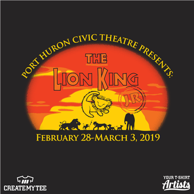 Port Huron Civic Theatre, Theatre,  Lion King
