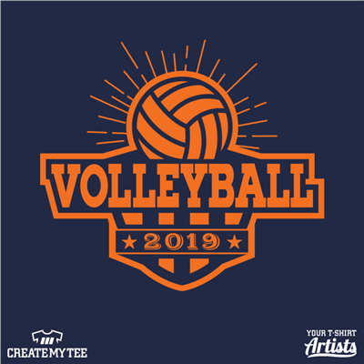 Volleyball, 2019, Sports