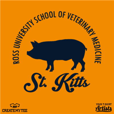 Ross, University, School, Veterinary Medicine, Swine, Pig, St. Kitts