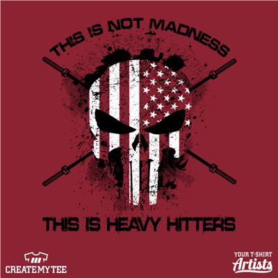 Heavy Hitters, Crossfit, HHCF, Madness, Skull