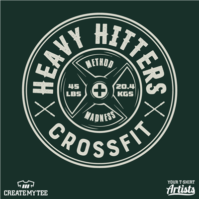 Heavy Hitters, Crossfit, HHCF, 10, Simple