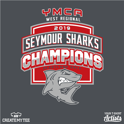 Seymour Champs, Shark, Seymour, Swimming, YMCA, 2019