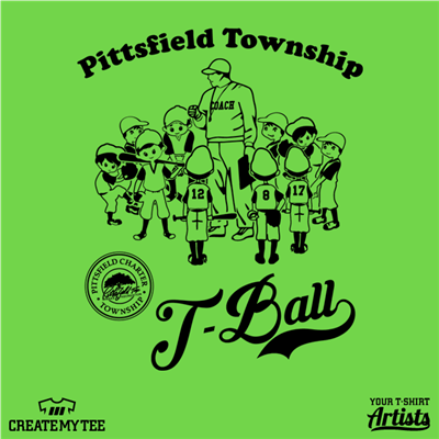 Pittsfield Township, Pittsfield, T-Ball, Baseball, Kids, League