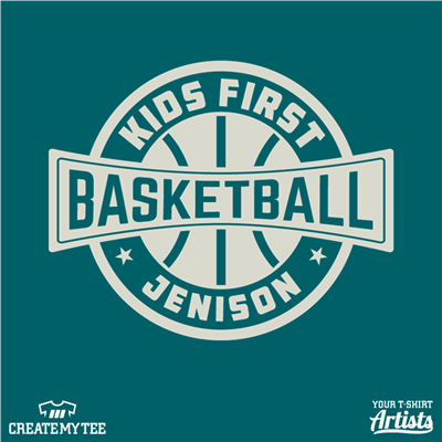 Kids First, Jenison, Basketball, Crest