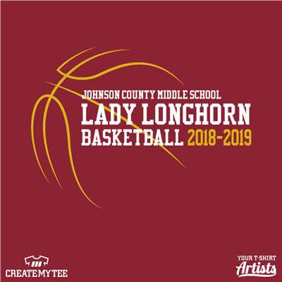 Lady Longhorn, Basketball, School