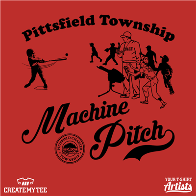 Machine Pitch League, Pittsfield Township