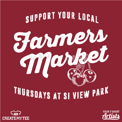 Farmers Market, Local, Cherry, View Park