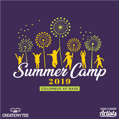 Columbus, AFB, Youth Center, Summer Camp, Camp, Children