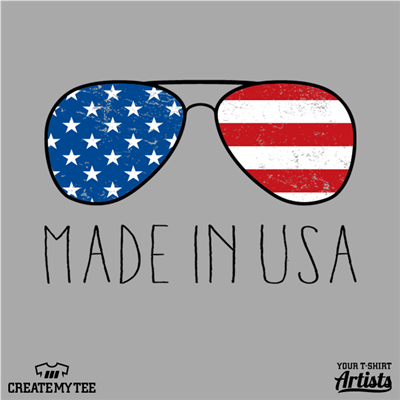 Amazon, Made in USA, Shades, Sunglasses, 4th of July