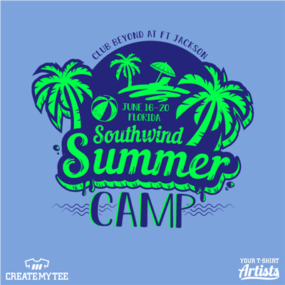 Club Beyond, Summer Camp, Southwind, Palm, Tropical, Beach, Camp