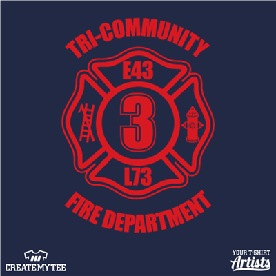 Tri-community, Fire, Fire Department, Engine 3, Rescue, 3