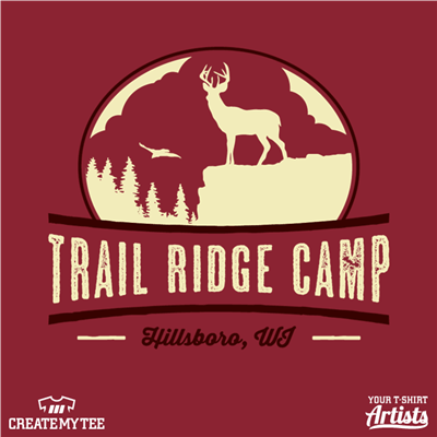 Trail Ridge Camp, Deer, Outdoors, Travel