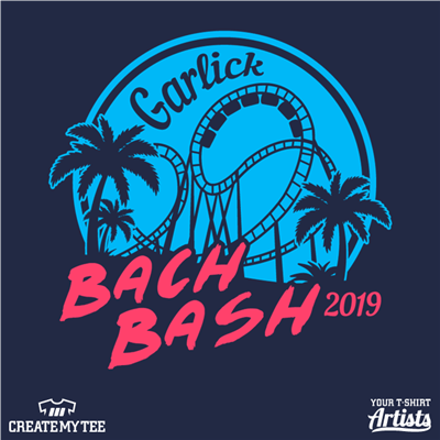 Bachelor, Bachelorett, Bach bash, Roller Coaster, Tropical, Palm Trees, Vacation
