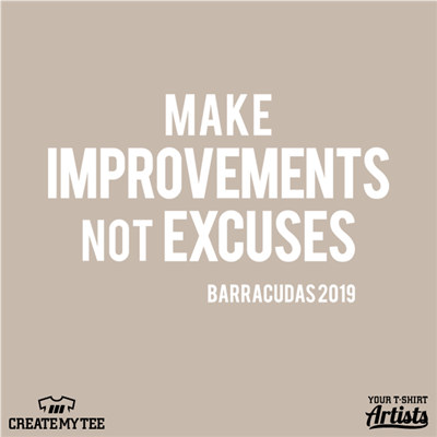 Beachwood, Swimming, 2019, Make Improvements, Not Excuses, Barracudas