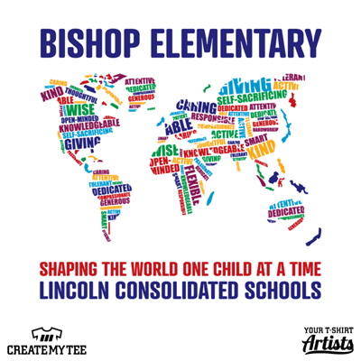 Bishop Elementary, School, Elementary, Shaping The World