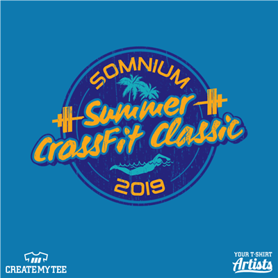 Somnium, CrossFit, Athlete, Summer Crossfit Classic, 2019, Beach, Swim, Surf