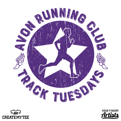 Avon Running Club, Track Tuesdays, Avon, Running