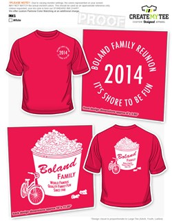 Family Reunion T-Shirt Designs | CreateMyTee