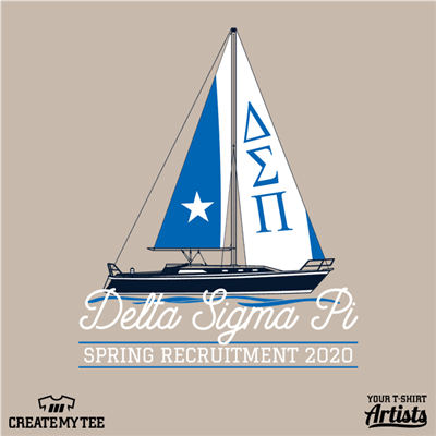 Delta Sigma Pi, Spring Recruitment, Boat, Fraternity, Greek Life