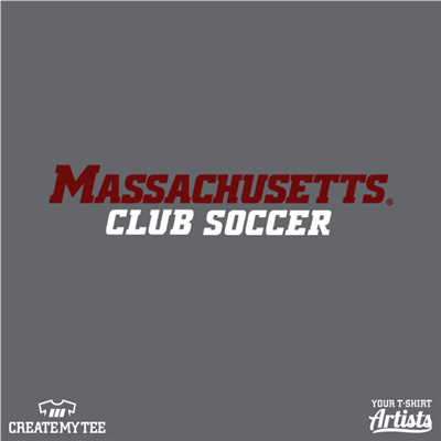 Massachusetts Club Soccer, 2 Color