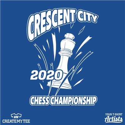 Crescent City, Chess Championship, King, Chess, Games, Crescent City Chess
