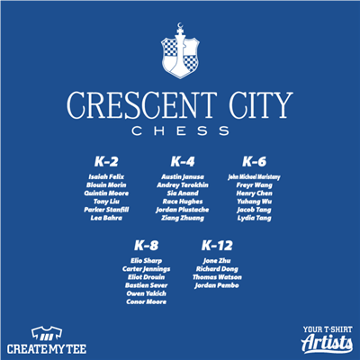 Crescent City Chess, Names, Chess