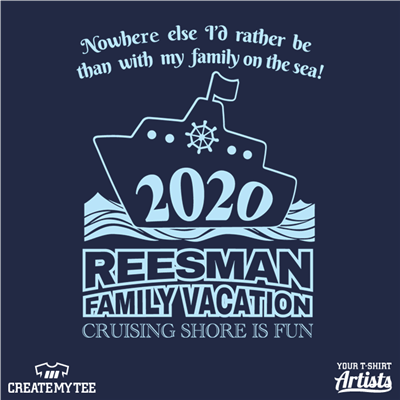 reesman, family, reunion, vacation, 2020, 9.5, cruise, adult