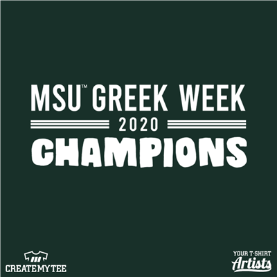 msu, greek, week, champions, 2020