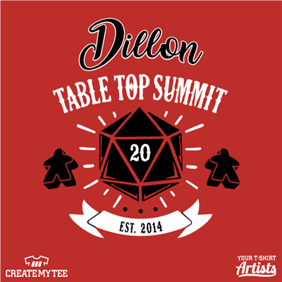 dillon, table, top, dice, summit, 10, 2020