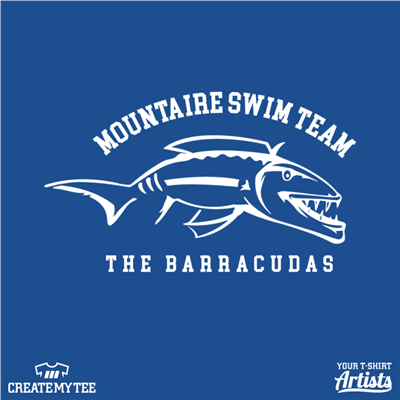 barracuda, mountaire, swim, 10, front