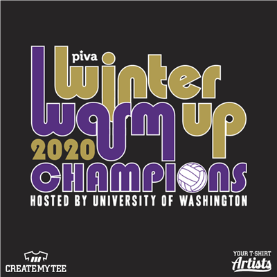 Winter Warm Up, Champions, Volleyball, 2020, 11