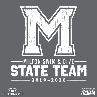 Milton, Swim & Dive, Team, State Team, Swim, M, 9.75