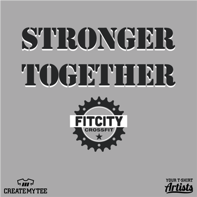 FitCity CrossFit, Stronger, Together, 8.5