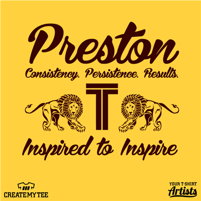 Preston, IT, Inspired to Inspire, Lions, 10