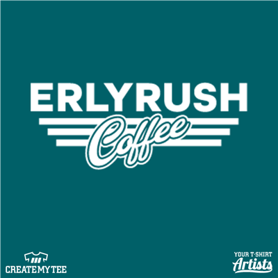 Erly Rush, Coffee, Left Chest