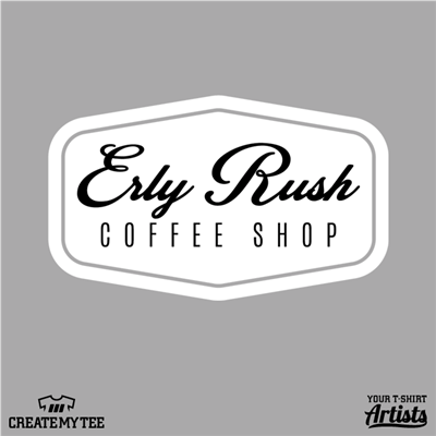 Erly Rush, Retro, Coffee, 11.5