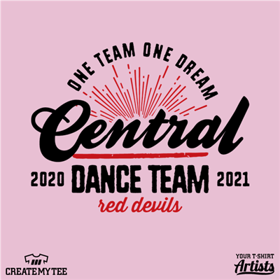 Central Dance, Red Devils, Team, Retro