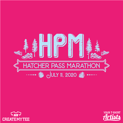Hatcher Pass Marathon, HPM, 2020, Running, Trees