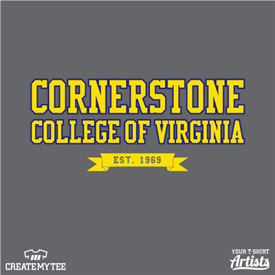 Cornerstone, College of Virginia, Est 1969