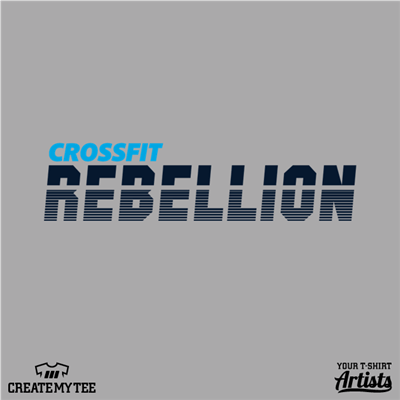 CrossFit Rebellion, 11, Retro, Gym, Fitness