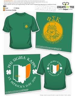 8e91d0f62 St. Patrick's Day T-Shirt Designs | CreateMyTee