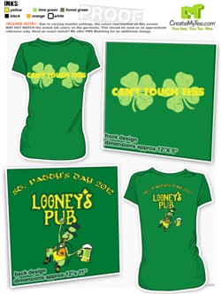 St Patricks Day T Shirt Designs Createmytee