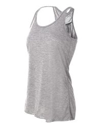 Bella Ladies' Flowy Racerback Tank Top