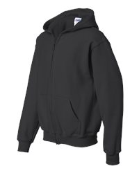 Gildan Youth Heavy Blend 50/50 Full-Zip Hoodie